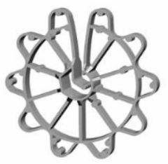 Ringafstandhouders 40 (125 st.)
