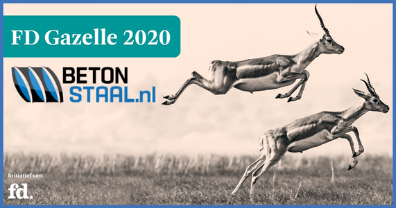 Betonstaal.nl is FD Gazelle 2020